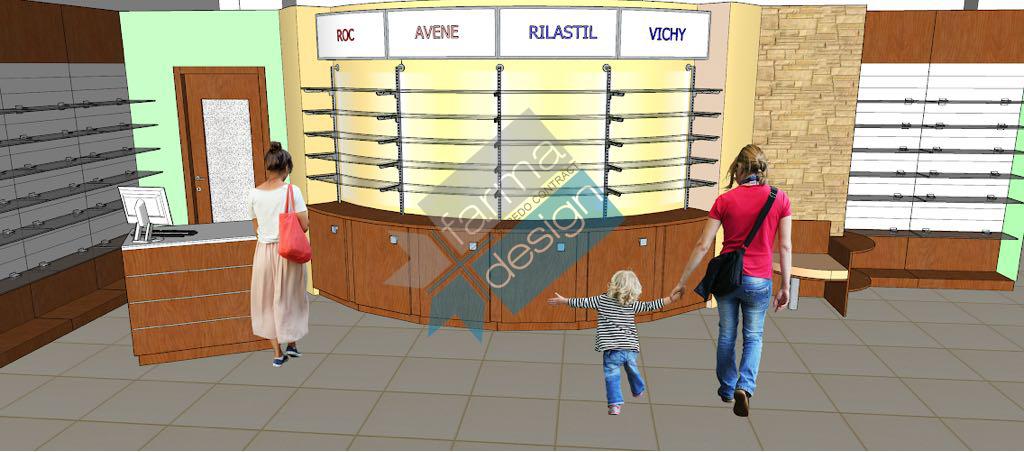 Realizzazione Farmacia Memeo (FarmaDesign)