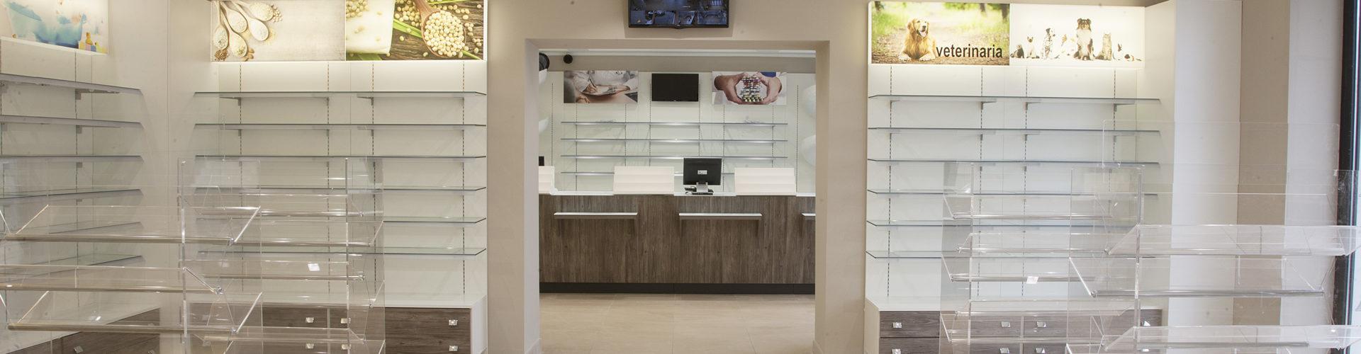 FarmaDesign realizzazione Farmacia Scarnò (Morena)