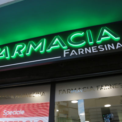 realizzazione e arredamento di farmacie - farmacia farnesina